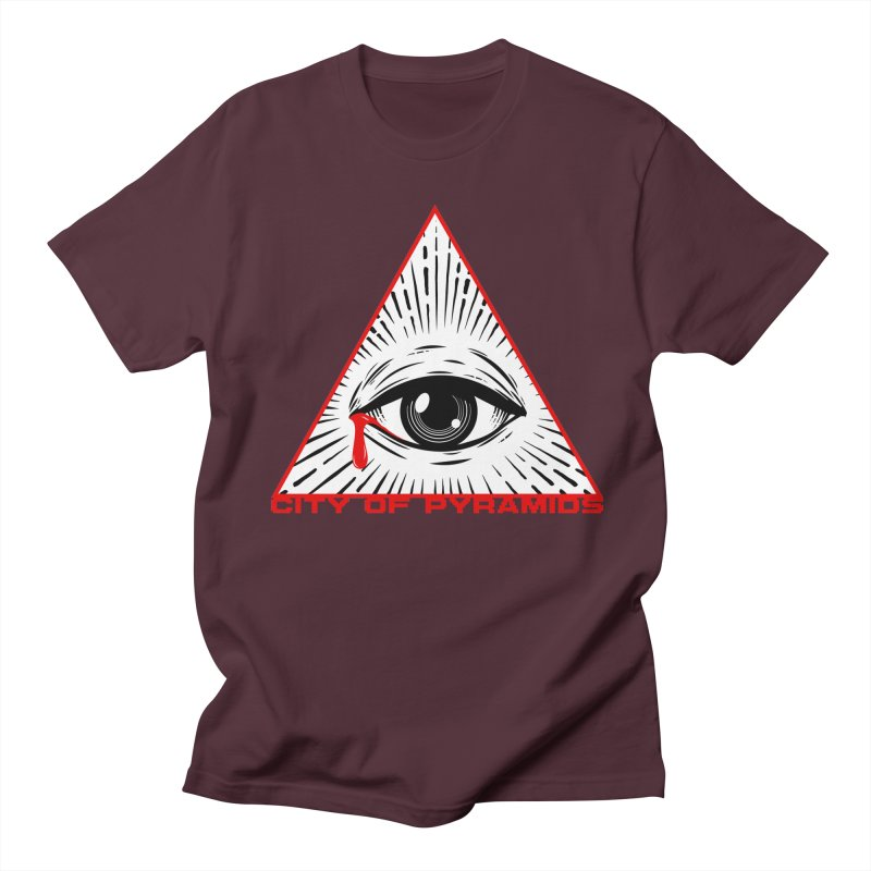 Eyeconic Tears Men's Regular T-Shirt by City of Pyramids's Artist Shop