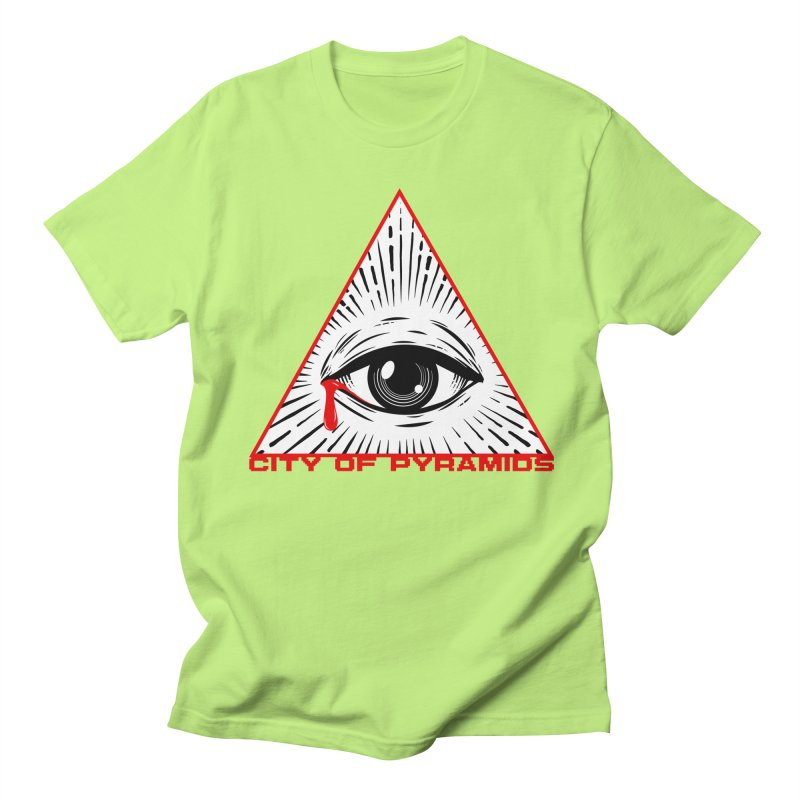 Eyeconic Tears Women's Regular Unisex T-Shirt by City of Pyramids's Artist Shop
