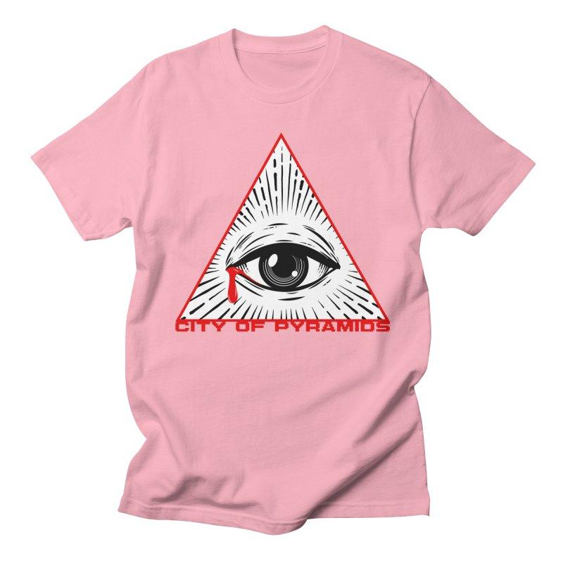 Eyeconic Tears Men's Regular T-Shirt by City of Pyramids's Artist Shop