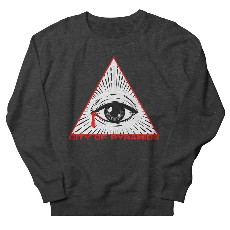 Eyeconic Tears Women's French Terry Sweatshirt by City of Pyramids's Artist Shop