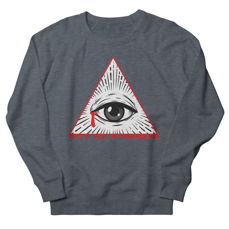 Eyeconic Tears Women's Sweatshirt by City of Pyramids's Artist Shop