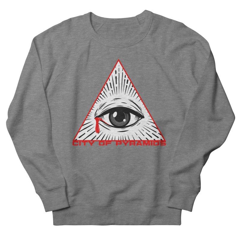 Eyeconic Tears Women's Sweatshirt by City of Pyramids's Artist Shop