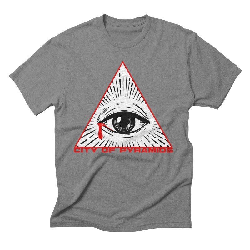 Eyeconic Tears Men's Triblend T-Shirt by City of Pyramids's Artist Shop