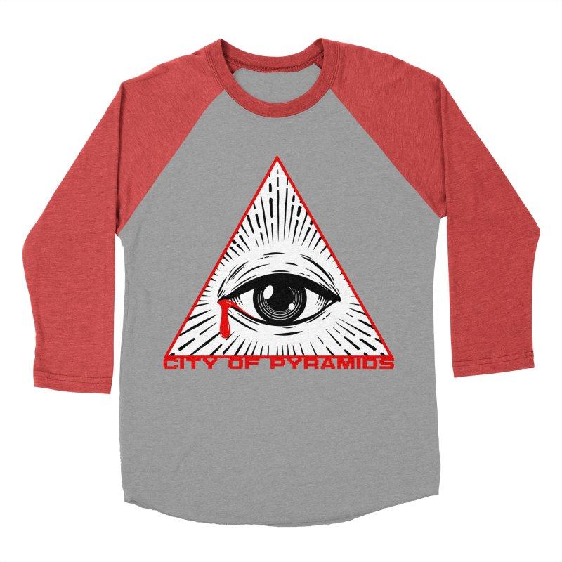 Eyeconic Tears Men's Longsleeve T-Shirt by City of Pyramids's Artist Shop