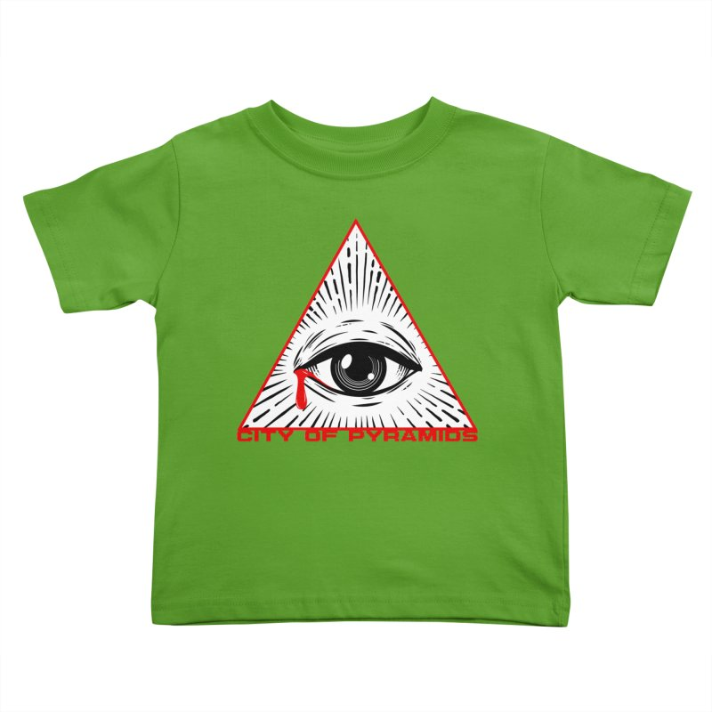 Eyeconic Tears Kids Toddler T-Shirt by City of Pyramids's Artist Shop