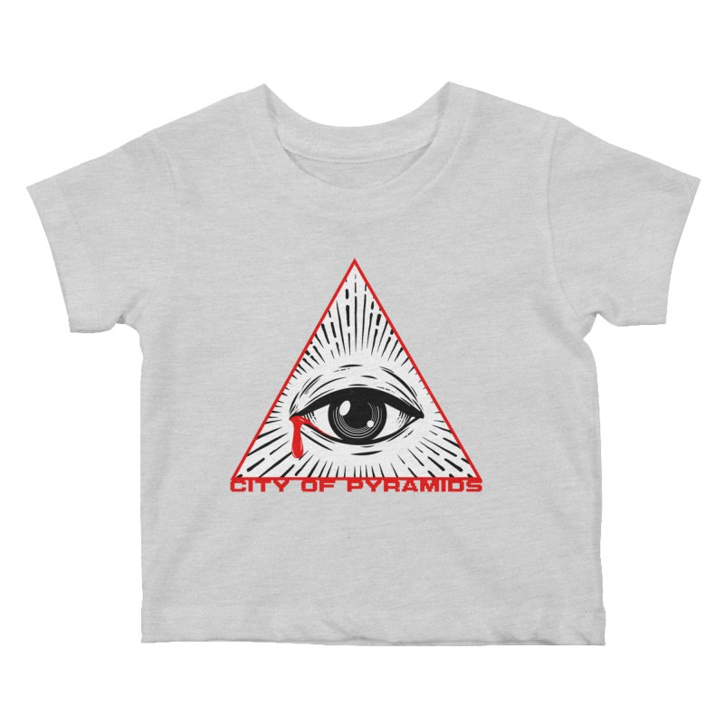 Eyeconic Tears Kids Baby T-Shirt by City of Pyramids's Artist Shop