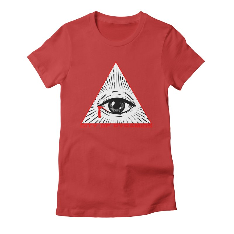 Eyeconic Tears Women's T-Shirt by City of Pyramids's Artist Shop