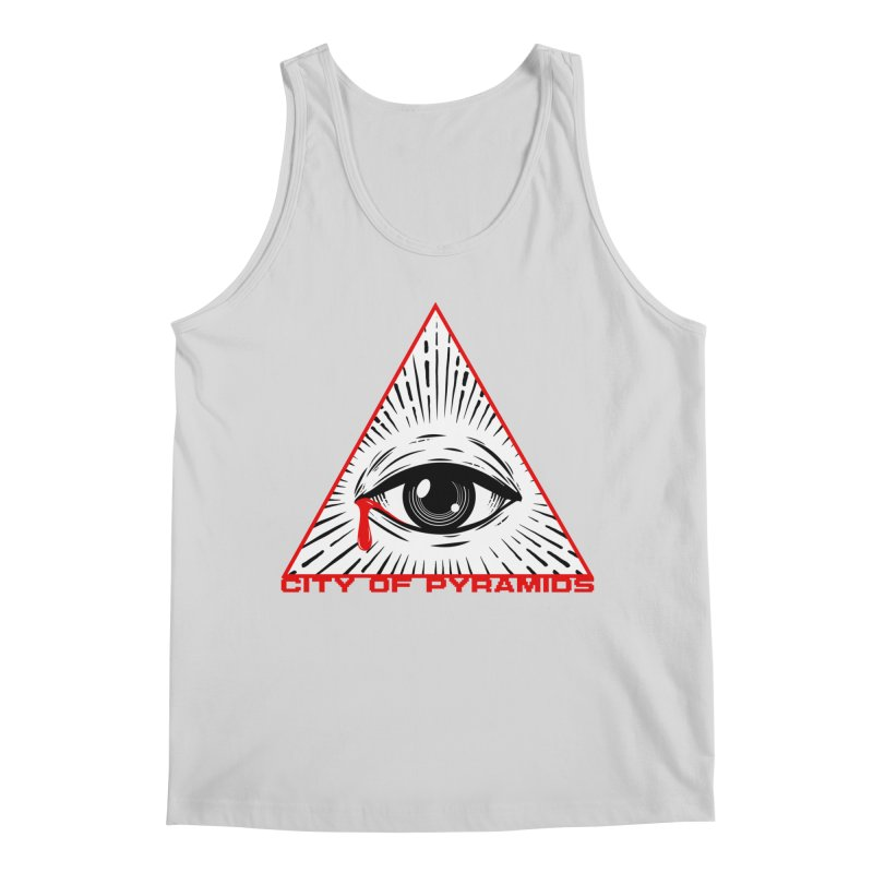 Eyeconic Tears Men's Regular Tank by City of Pyramids's Artist Shop