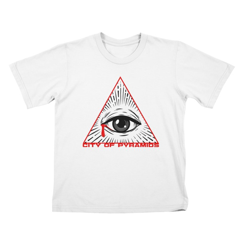 Eyeconic Tears Kids T-Shirt by City of Pyramids's Artist Shop