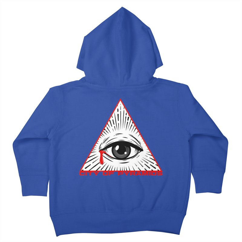 Eyeconic Tears Kids Toddler Zip-Up Hoody by City of Pyramids's Artist Shop