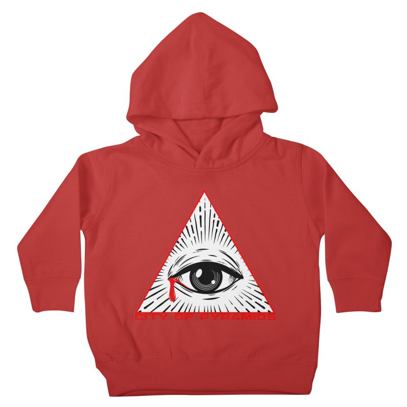 Eyeconic Tears Kids Toddler Pullover Hoody by City of Pyramids's Artist Shop