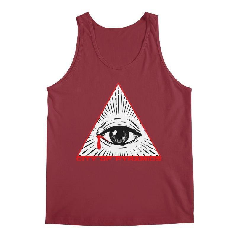 Eyeconic Tears Men's Tank by City of Pyramids's Artist Shop