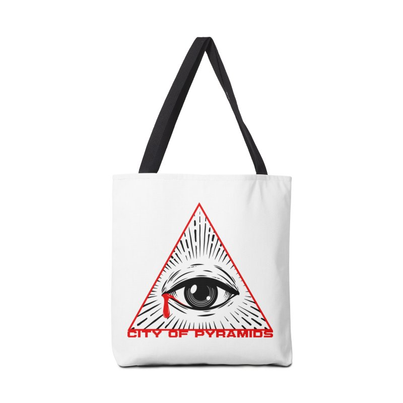 Eyeconic Tears Accessories Tote Bag Bag by City of Pyramids's Artist Shop