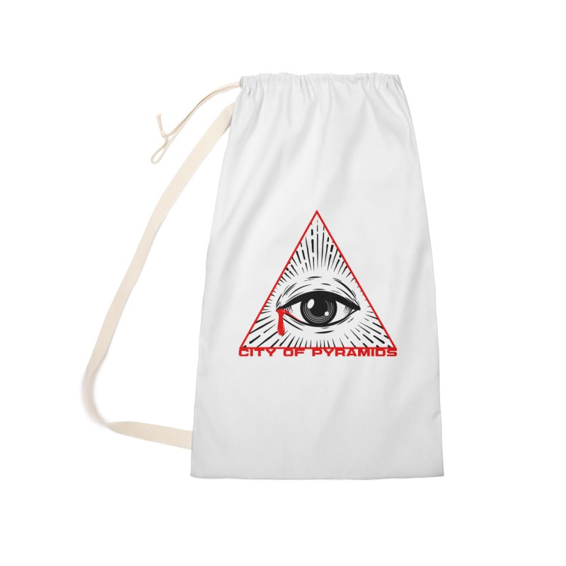 Eyeconic Tears Accessories Bag by City of Pyramids's Artist Shop