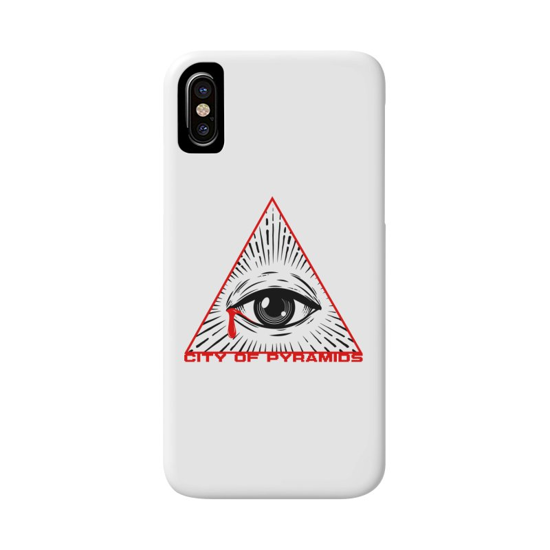 Eyeconic Tears Accessories Phone Case by City of Pyramids's Artist Shop