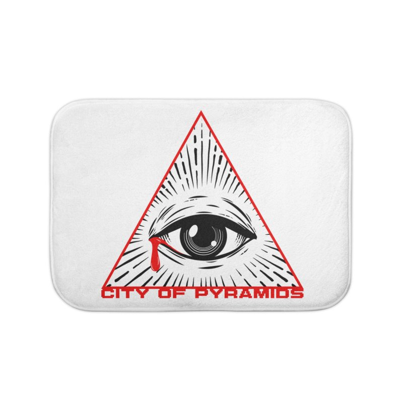 Eyeconic Tears Home Bath Mat by City of Pyramids's Artist Shop