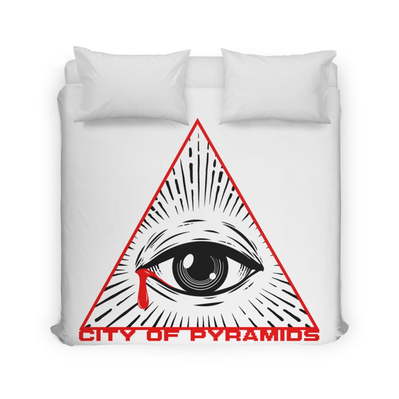 Eyeconic Tears Home Duvet by City of Pyramids's Artist Shop