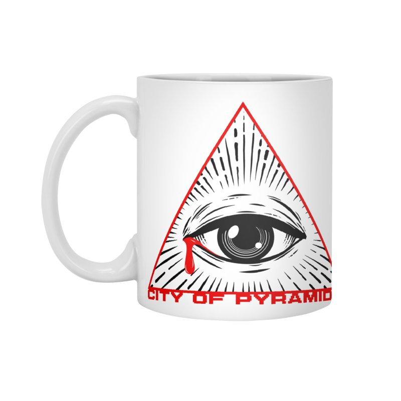 Eyeconic Tears Accessories Standard Mug by City of Pyramids's Artist Shop