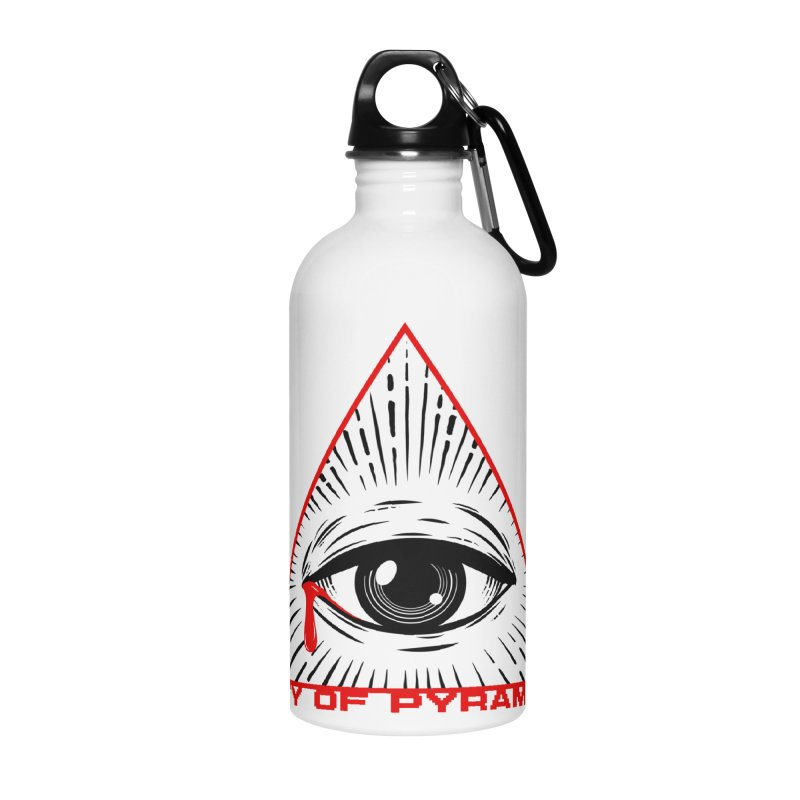 Eyeconic Tears Accessories Water Bottle by City of Pyramids's Artist Shop