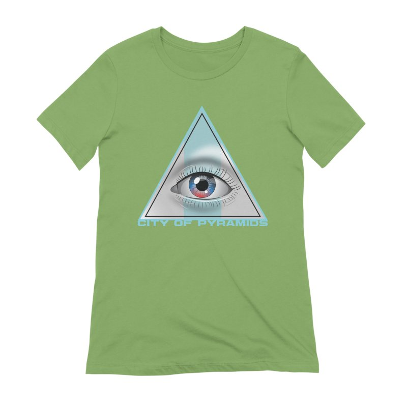 Eyeconic Blank Women's Extra Soft T-Shirt by City of Pyramids's Artist Shop
