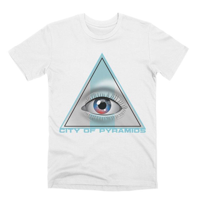 Eyeconic Blank Men's T-Shirt by City of Pyramids's Artist Shop