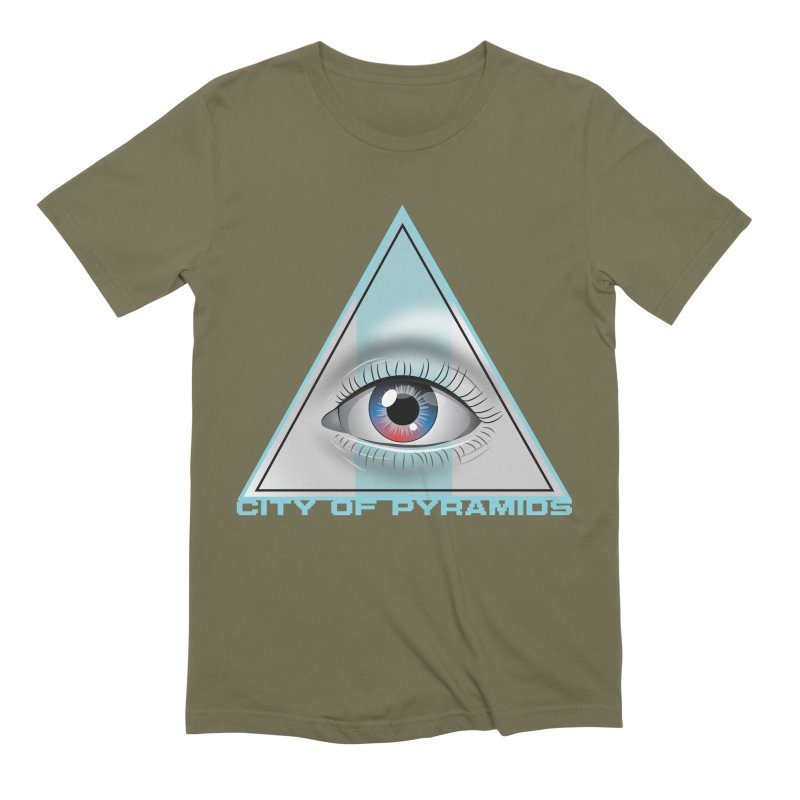 Eyeconic Blank Men's Extra Soft T-Shirt by City of Pyramids's Artist Shop