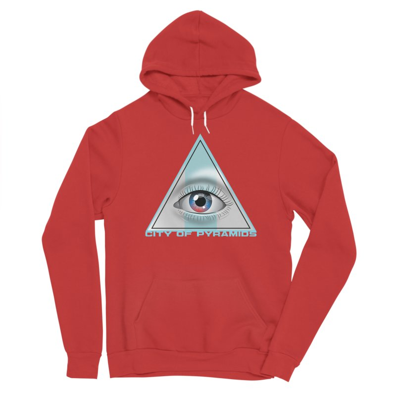 Eyeconic Blank Women's Pullover Hoody by City of Pyramids's Artist Shop