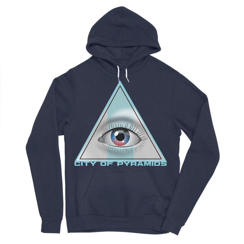 Eyeconic Blank Women's Sponge Fleece Pullover Hoody by City of Pyramids's Artist Shop