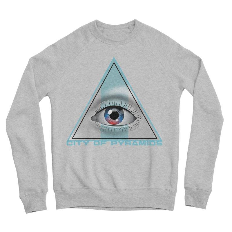 Eyeconic Blank Women's Sponge Fleece Sweatshirt by City of Pyramids's Artist Shop