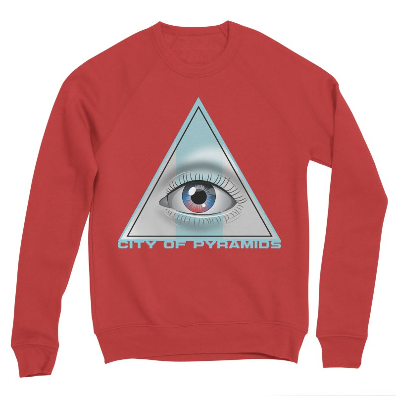 Eyeconic Blank Women's Sponge Fleece Sweatshirt by City of Pyramids's Artist Shop