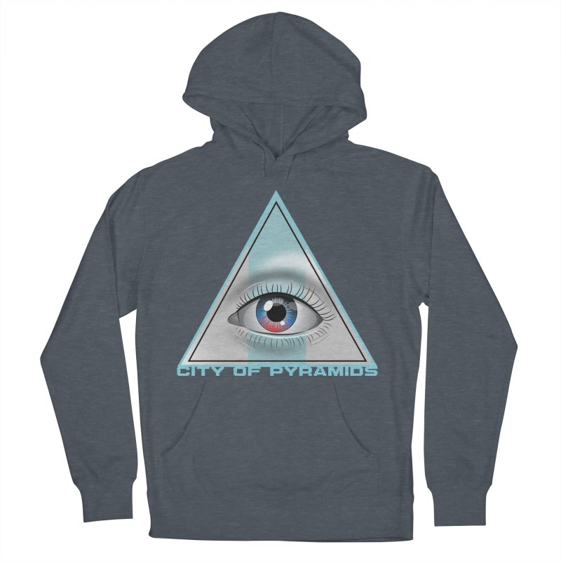 Eyeconic Blank Women's French Terry Pullover Hoody by City of Pyramids's Artist Shop