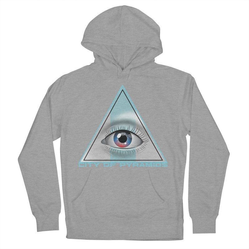 Eyeconic Blank Men's French Terry Pullover Hoody by City of Pyramids's Artist Shop
