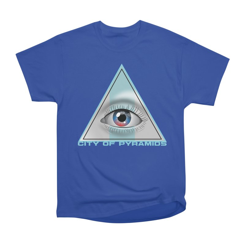 Eyeconic Blank Men's Heavyweight T-Shirt by City of Pyramids's Artist Shop