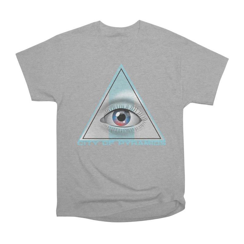 Eyeconic Blank Women's Heavyweight Unisex T-Shirt by City of Pyramids's Artist Shop