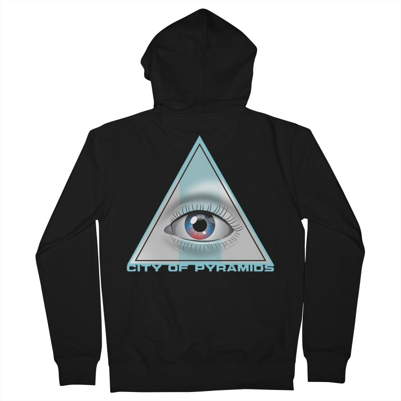 Eyeconic Blank Women's French Terry Zip-Up Hoody by City of Pyramids's Artist Shop