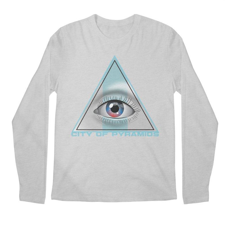 Eyeconic Blank Men's Regular Longsleeve T-Shirt by City of Pyramids's Artist Shop
