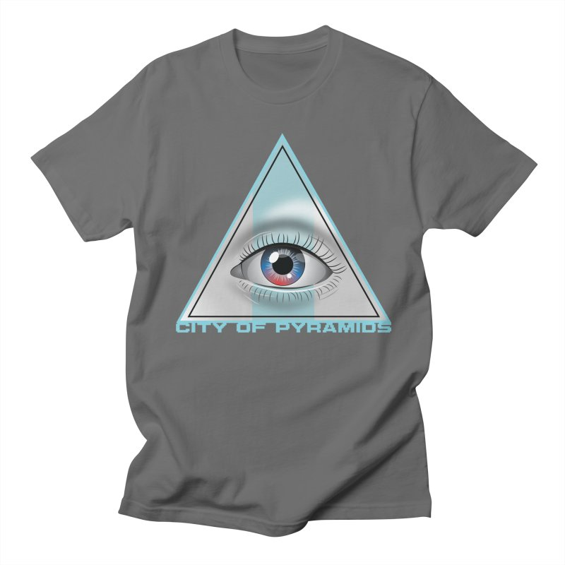 Eyeconic Blank Men's T-Shirt by City of Pyramids's Artist Shop