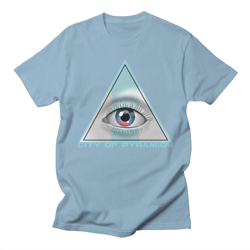 Eyeconic Blank Women's Regular Unisex T-Shirt by City of Pyramids's Artist Shop