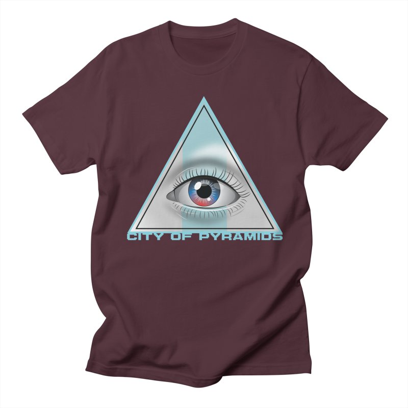 Eyeconic Blank Women's Regular Unisex T-Shirt by City of Pyramids's Artist Shop