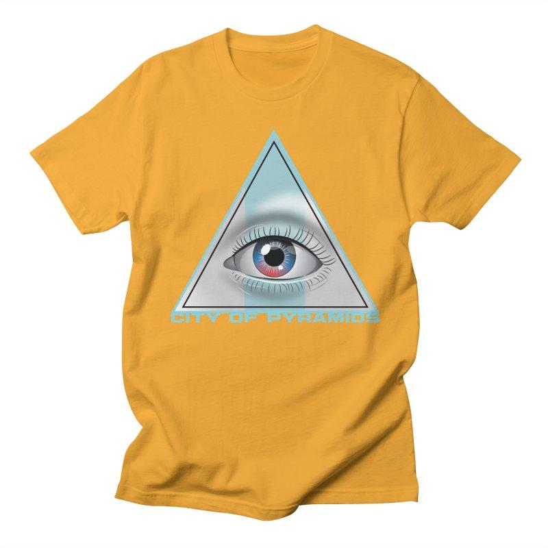 Eyeconic Blank Men's Regular T-Shirt by City of Pyramids's Artist Shop