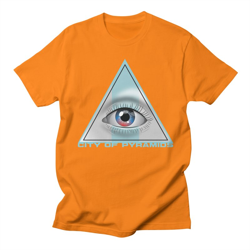 Eyeconic Blank Men's Regular T-Shirt by City of Pyramids's Artist Shop