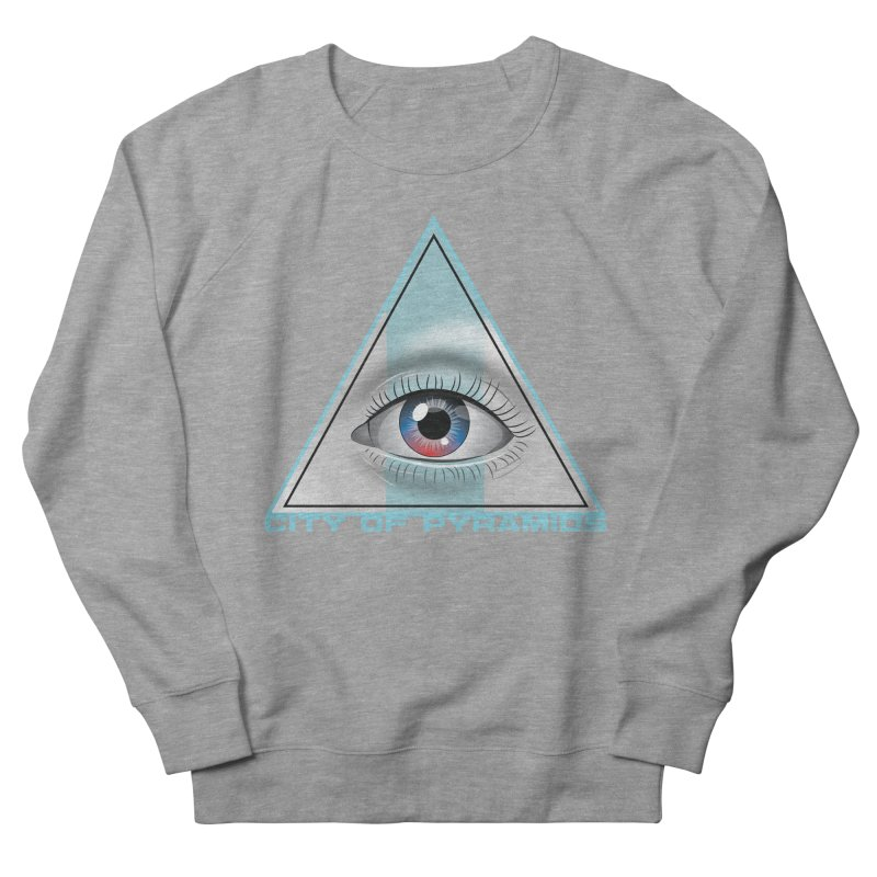 Eyeconic Blank Women's French Terry Sweatshirt by City of Pyramids's Artist Shop