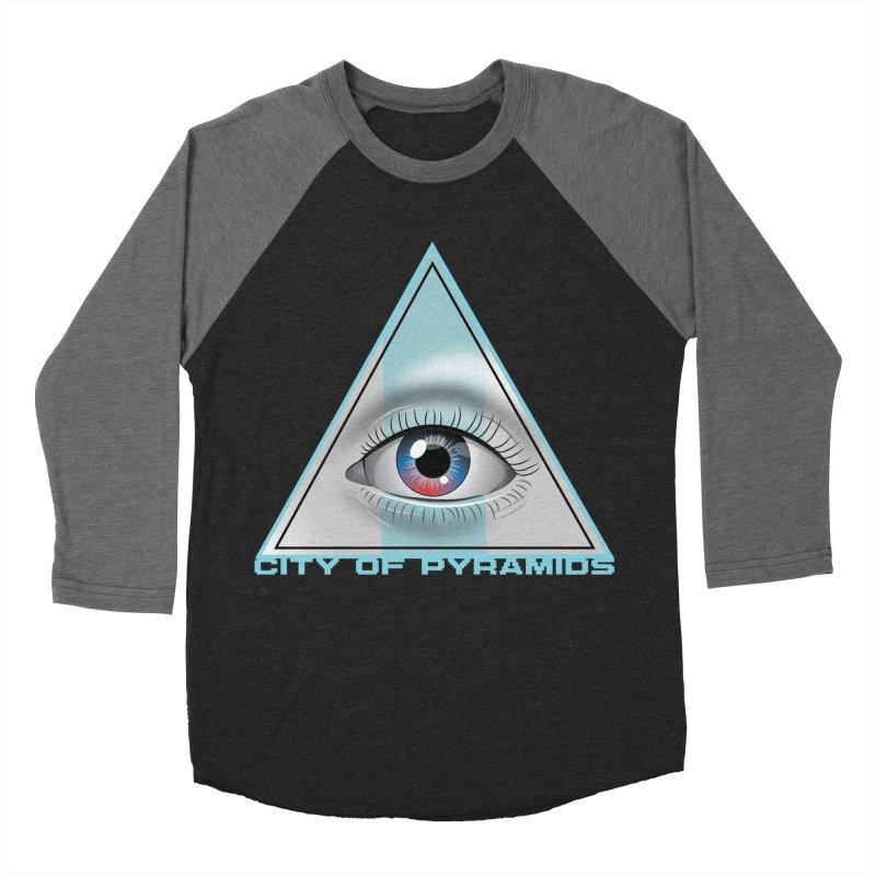 Eyeconic Blank Women's Baseball Triblend Longsleeve T-Shirt by City of Pyramids's Artist Shop