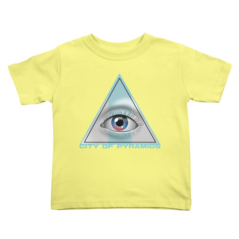 Eyeconic Blank Kids Toddler T-Shirt by City of Pyramids's Artist Shop