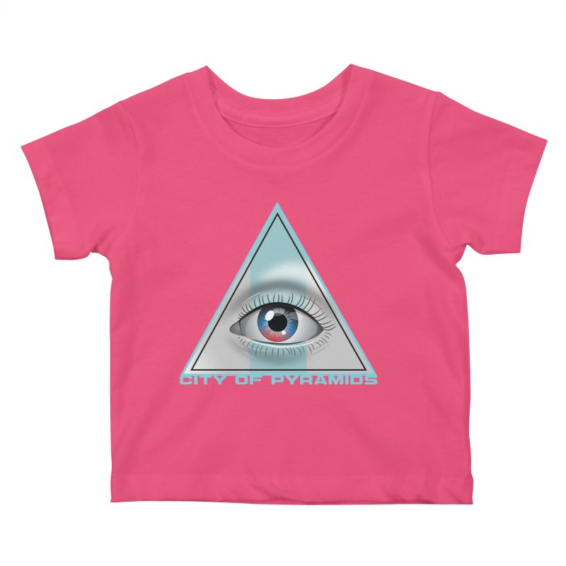 Eyeconic Blank Kids Baby T-Shirt by City of Pyramids's Artist Shop