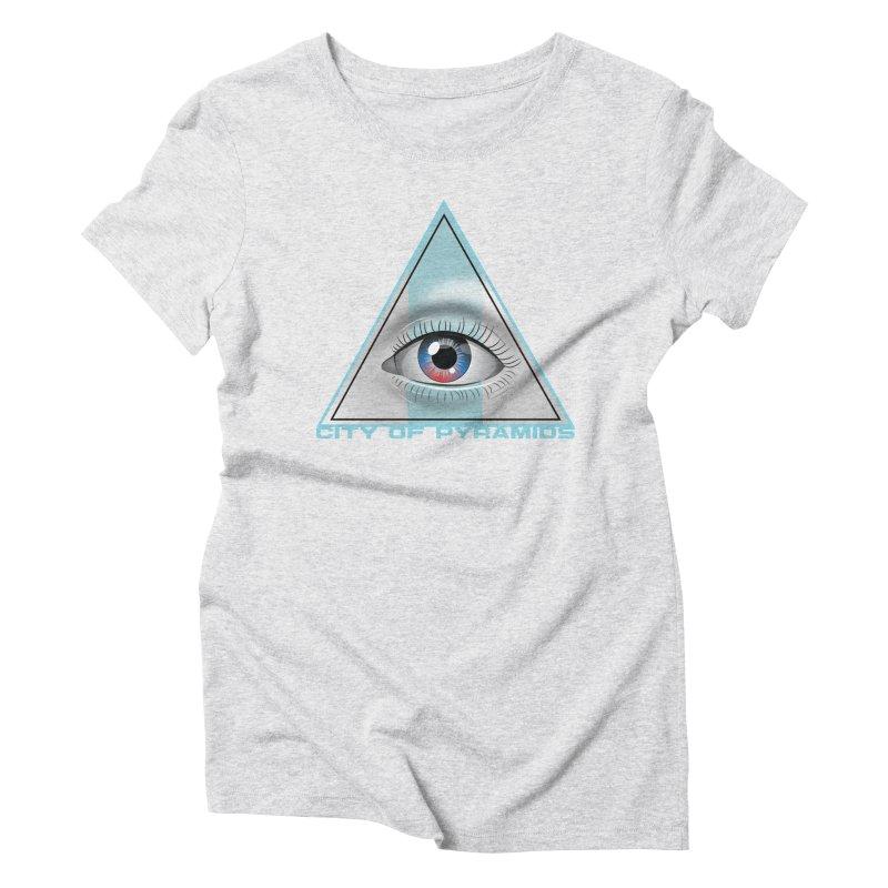 Eyeconic Blank Women's T-Shirt by City of Pyramids's Artist Shop