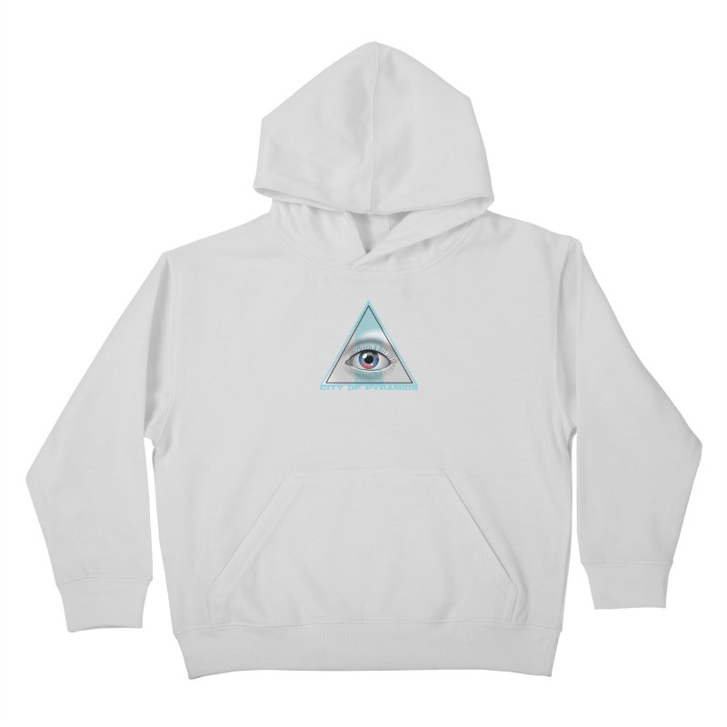 Eyeconic Blank Kids Pullover Hoody by City of Pyramids's Artist Shop