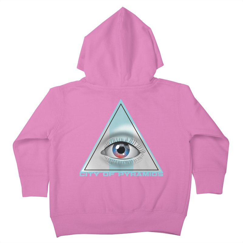Eyeconic Blank Kids Toddler Zip-Up Hoody by City of Pyramids's Artist Shop