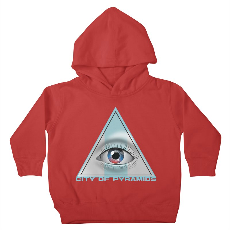 Eyeconic Blank Kids Toddler Pullover Hoody by City of Pyramids's Artist Shop