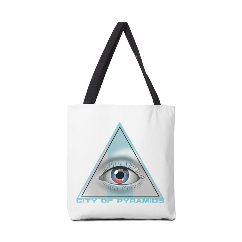 Eyeconic Blank Accessories Tote Bag Bag by City of Pyramids's Artist Shop